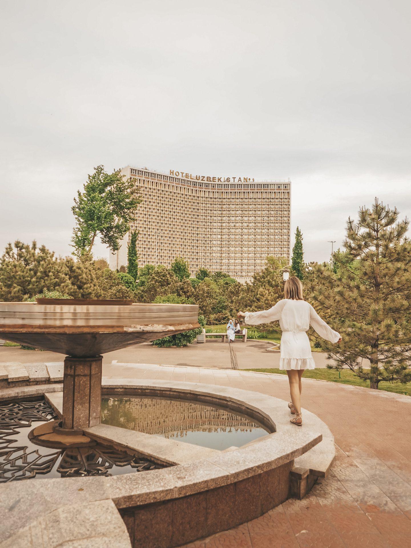 Tashkent - Amir Timur Square