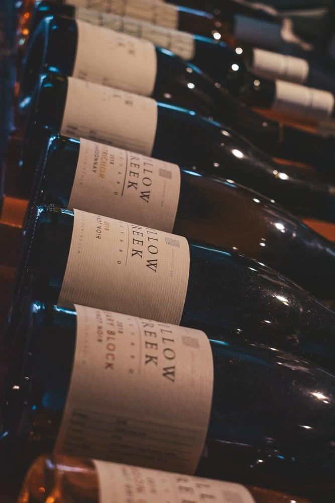 Bottles of Wine - Wine Tasting Steps